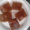 Lemon Ginger & Pear Kombucha Jello