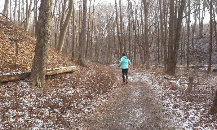 Jenni Hulburt winter running