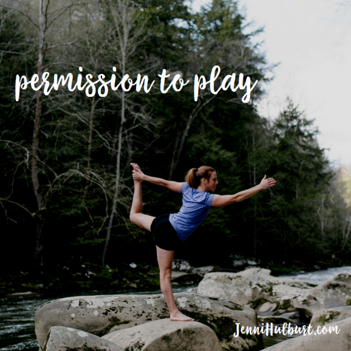 Jenni Hulburt quote permission to play