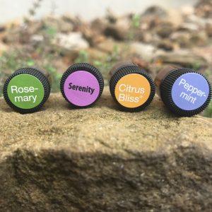 essential oil samples more joy less stress